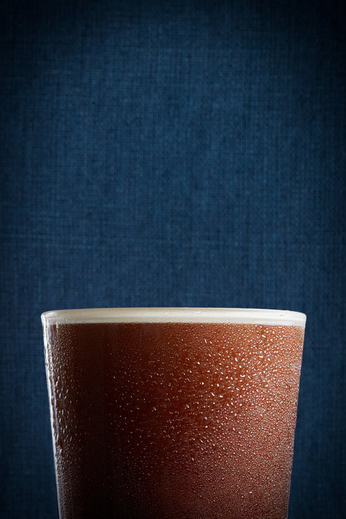 food stylist in San Francisco - black tie cold brew with swettened condesed milk and cream Peet