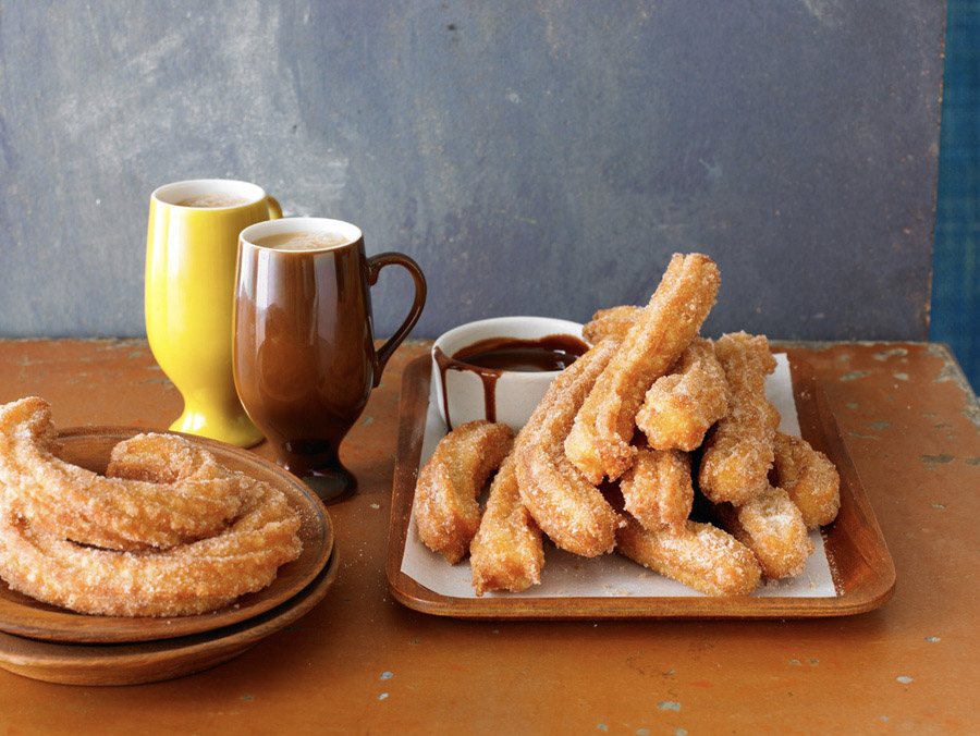 food stylist in San Francisco - Churros Quick and Easy Mexican Cooking by Cecilia Hae-Jin Lee author  photographed by Leigh Beisch Photographer
