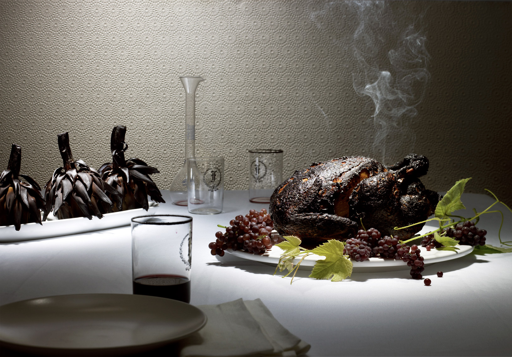 food stylist in San Francisco - Burnt Thanksgiving Turkey by Maren Caruso Photography