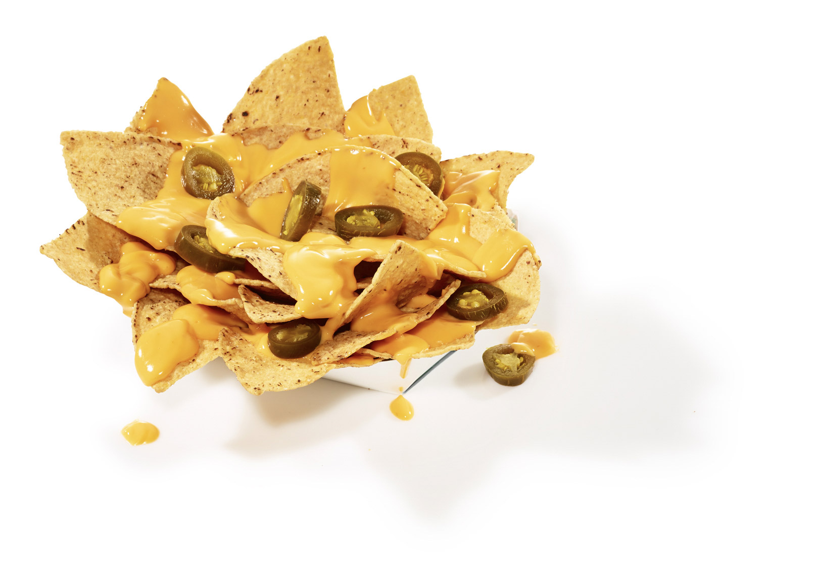 food stylist in San Fancisco - Nachos with Jalapenos for 49ers Levi