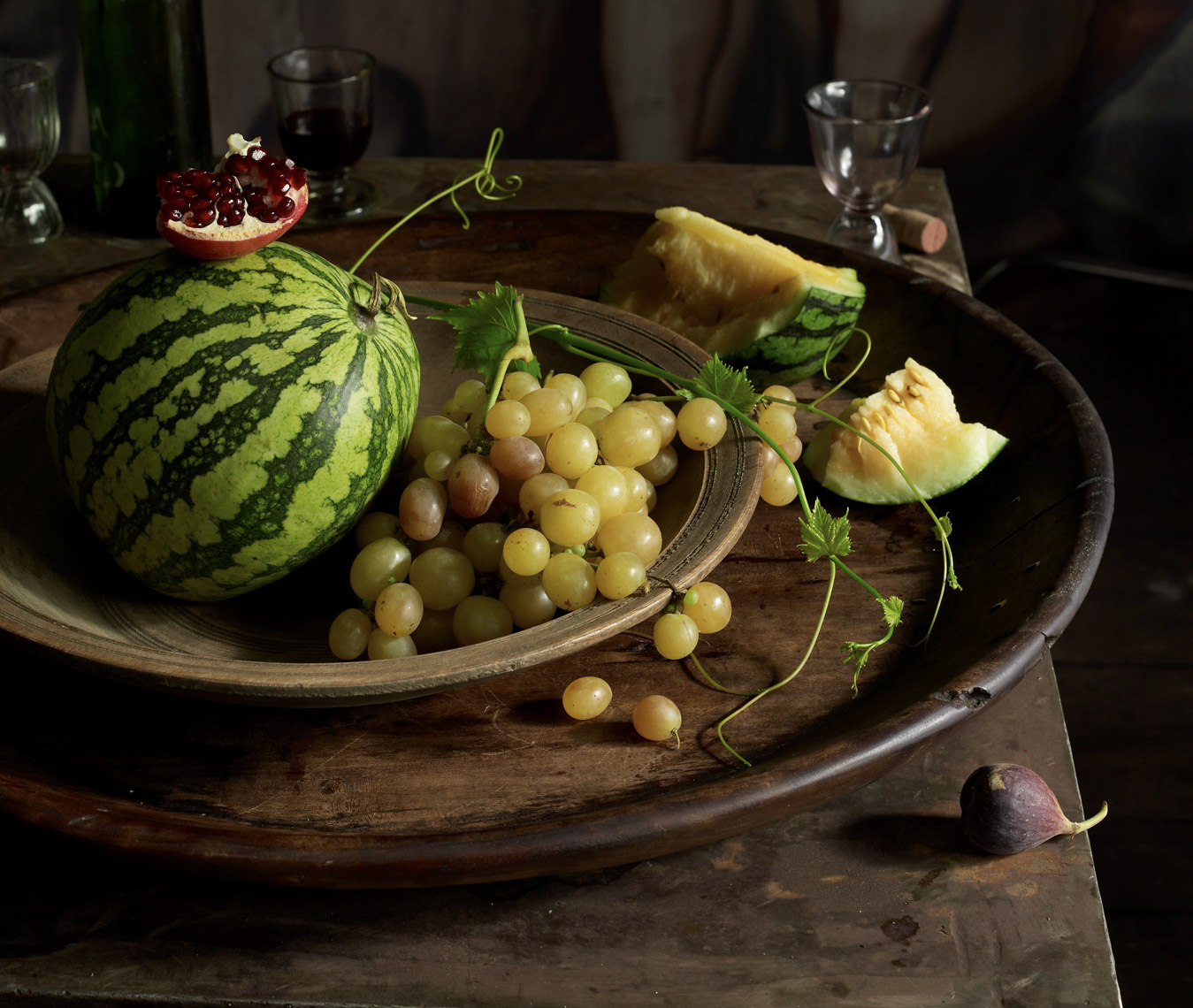 food stylist in San Francisco - Fruit still life for Angelo