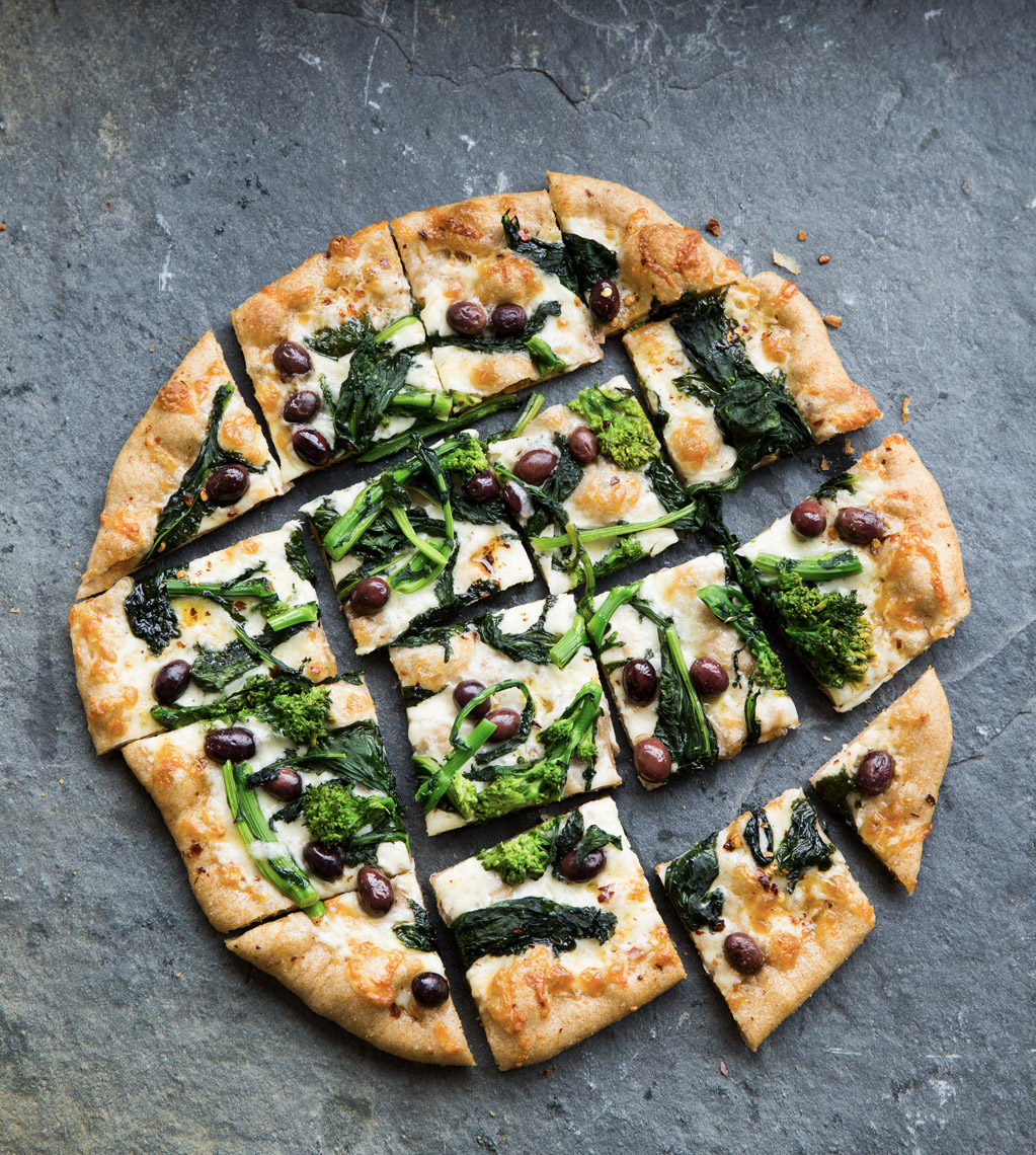 food stylist in San Fancisco - Healthy Pizza for Rustic Italian Cookbook - Weldon Owen photographed by Maren Caruso Photographer