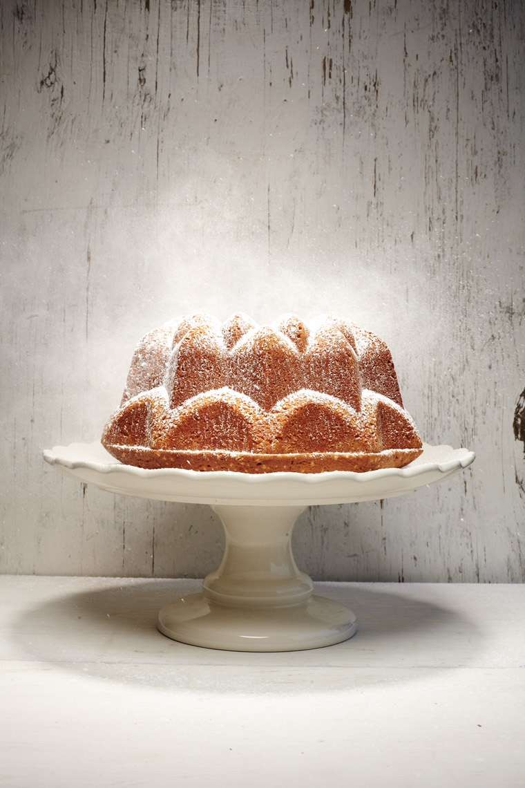 food stylist in San Francisco - Bundt Cake forNeely