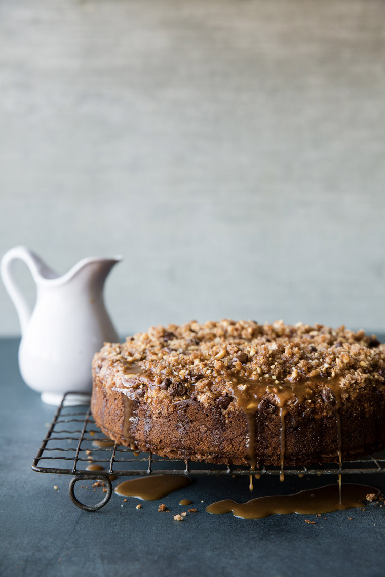 food stylist in San Francisco - Coffee cake by Annabelle Breakey Photographer