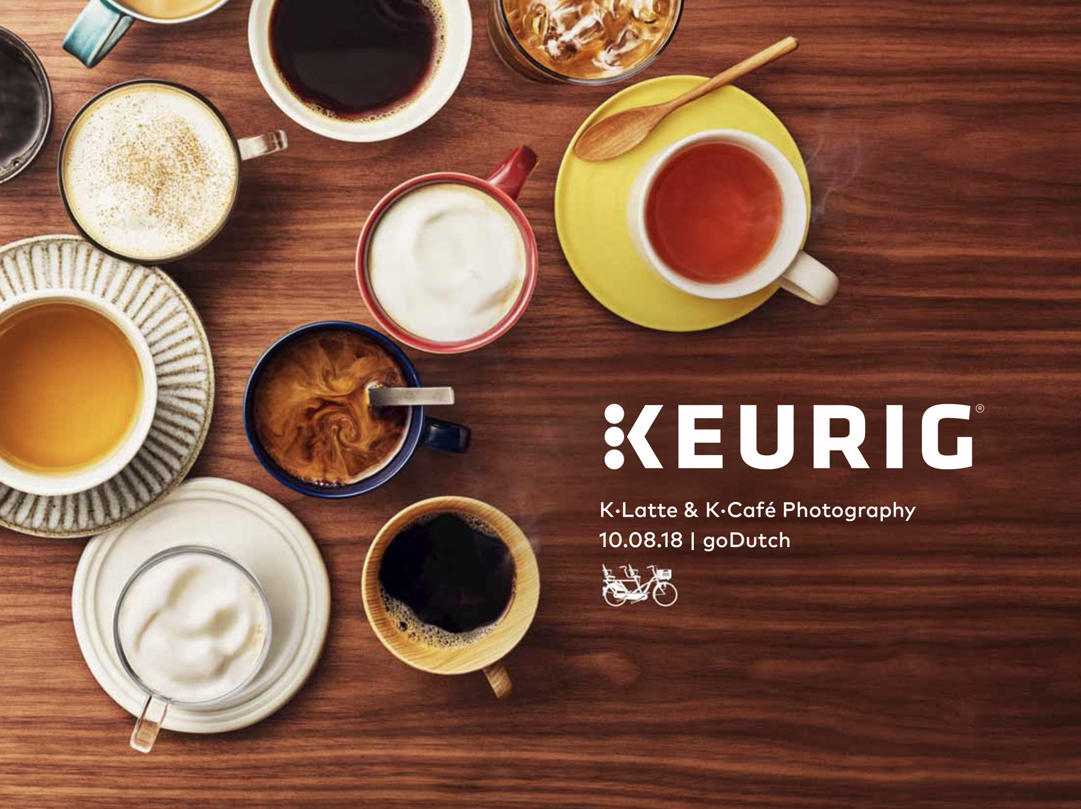 food stylist in New York - Coffees and teas Keurig advertising photographed by Tara Donne photographer