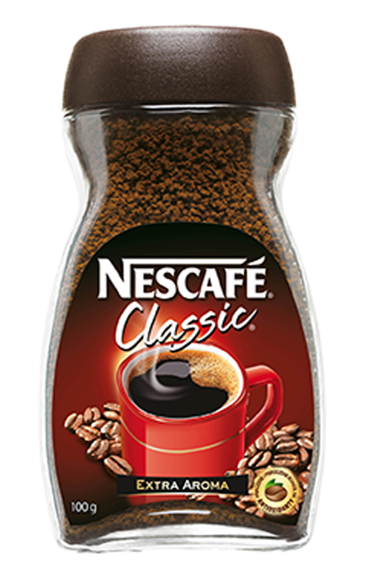 food stylist in San Fancisco - Nescafe Coffee Creamer Nescafe Classic packaging photographed by Noel Barnhurst photographer